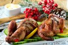 Цыплята-корнишоны в пряном масле