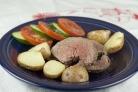 Мясо в соли в духовке