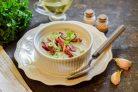 Крем-суп из белой фасоли