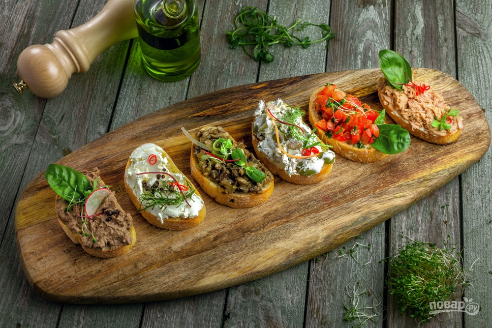 Мини-бутерброды