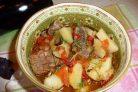 Аджапсандал армянский с мясом