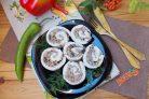 Куриный рулет с гречкой и грибами