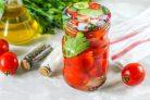 Помидоры маринованные с растительным маслом