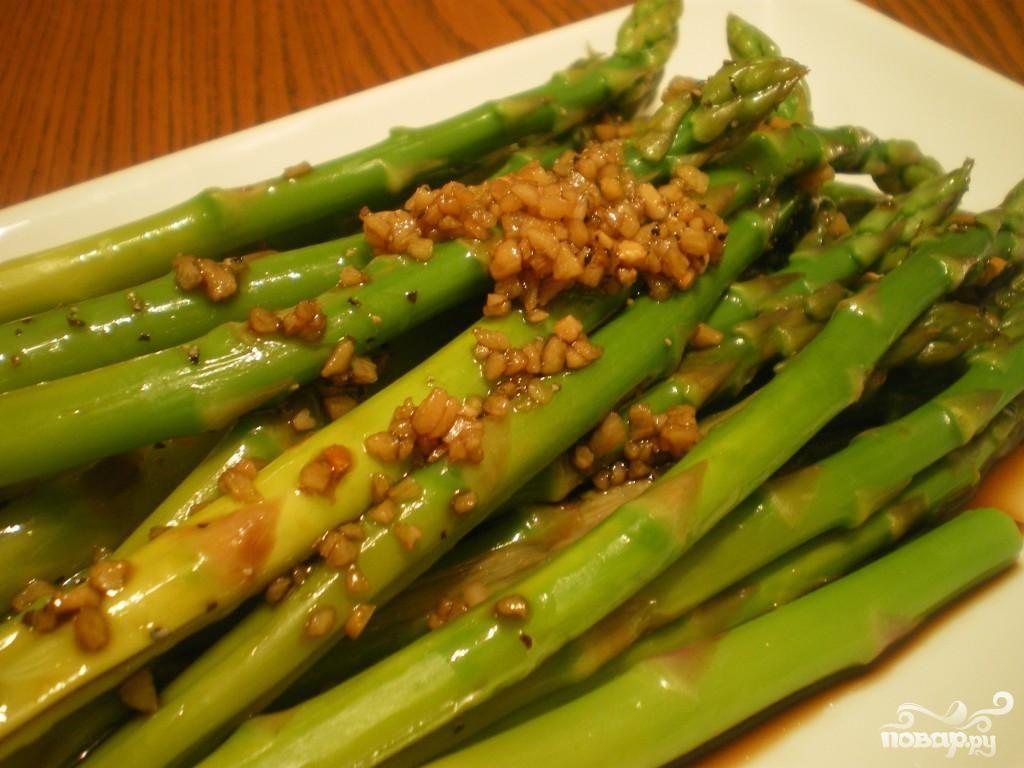 спаржа рецепты приготовления с фото салаты