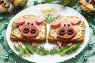 Бутерброды Поросята
