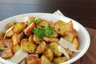Картофель в мундире, запеченный в духовке
