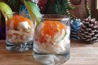 Новогодний салат-коктейль