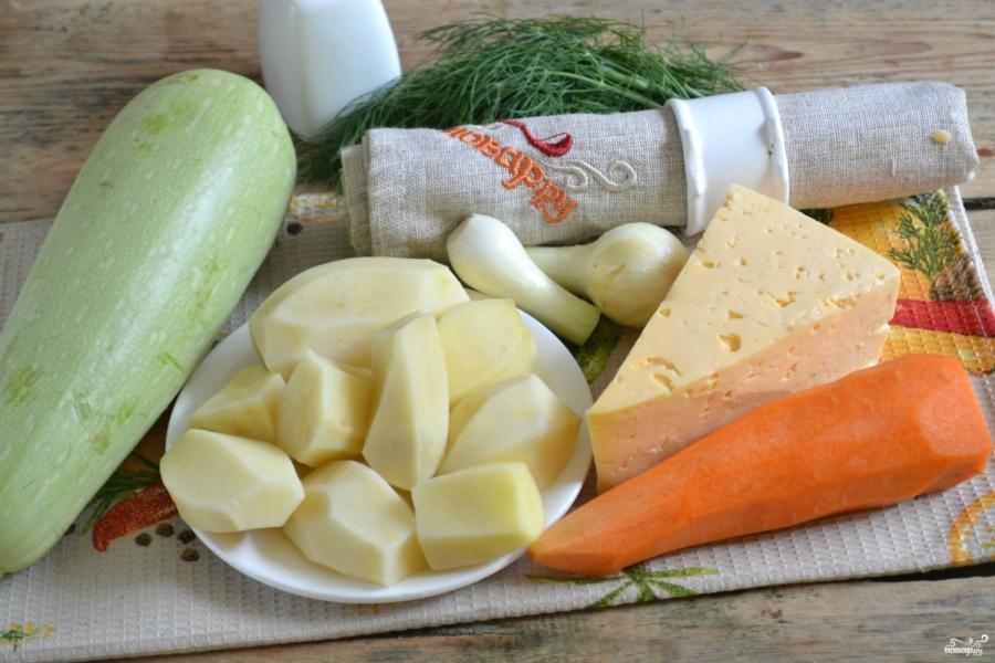 Вегетарианская запеканка из картофеля