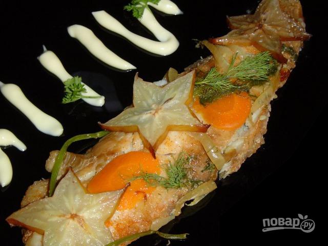 Рыба под соевым соусом