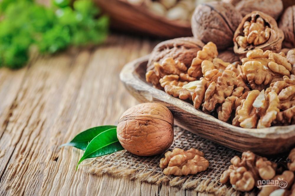 Ореховая начинка для корзиночек