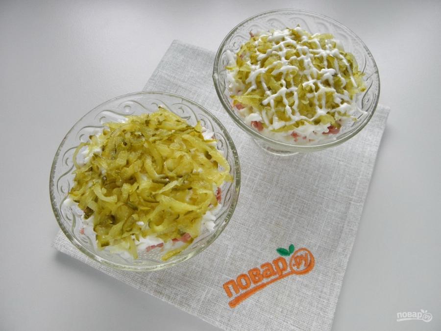 "Салат ""Оливье"" под шубой"