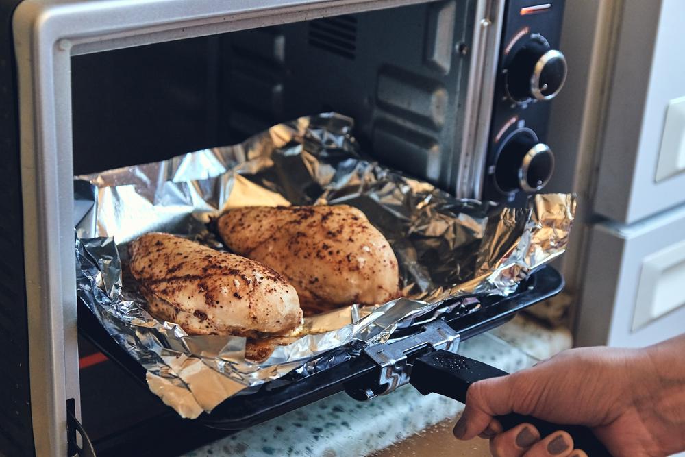 Куриные грудки в фольге в духовке