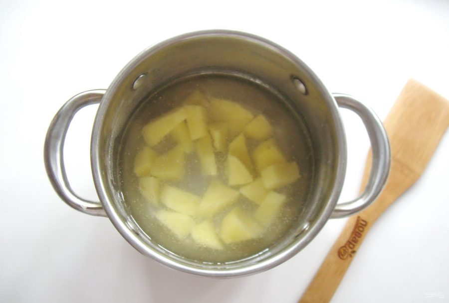 Грибной суп с клецками