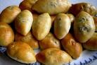 Пирожки с картошкой и опятами
