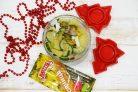 Селедочный салат с горчицей