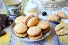 Кокосовое печенье со сгущенкой