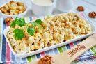 Салат с грибами и сыром Искушение