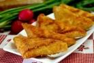 Треугольники из лаваша с сыром