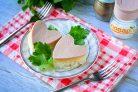Бутерброды в виде сердца