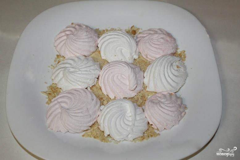 торт из зефира без выпечки с фото поздравляем