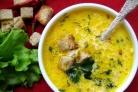 Суп с ветчиной и сыром