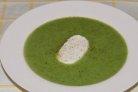 Крем-суп из брокколи и шампиньонов