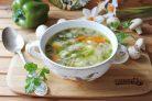 Вегетарианский грибной суп