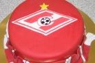 Торт с эмблемойСпартака
