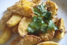 Картофель в сухарях