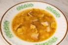 Суп из копченой рыбы