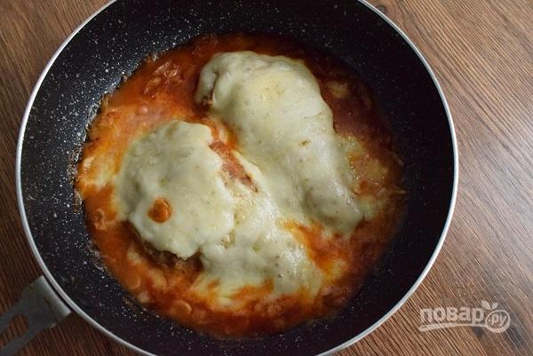 Курица по-итальянски в духовке