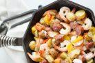 Колбаса с креветками