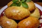 Пирожки с грибами и картошкой в духовке
