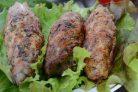 Люля-кебаб из свинины (простой рецепт)