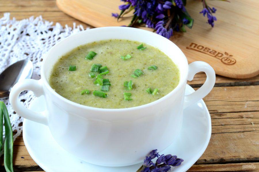 Крем-суп из брокколи для детей