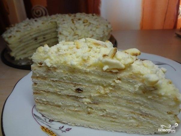 Творожный тортик на сковороде