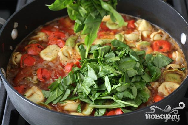Суп с тортеллини