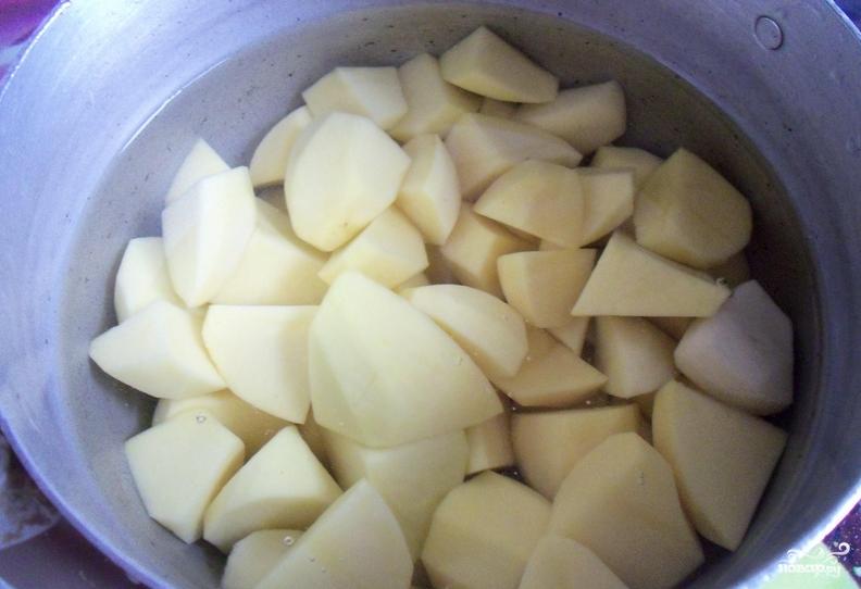 как сделать пюре для пирожков с картошкой