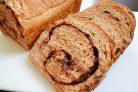 Рулет из хлебного теста с шоколадом
