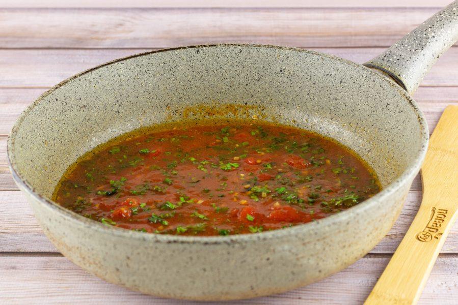 Горбуша в томатном соусе