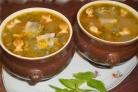 Суп из консервы сайры