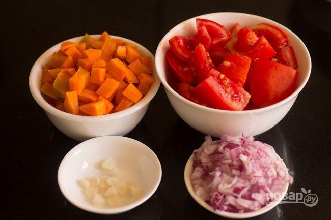 Томатно-морковный суп