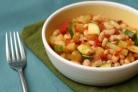 Пикантная закуска из белой фасоли - рецепт пошаговый с фото