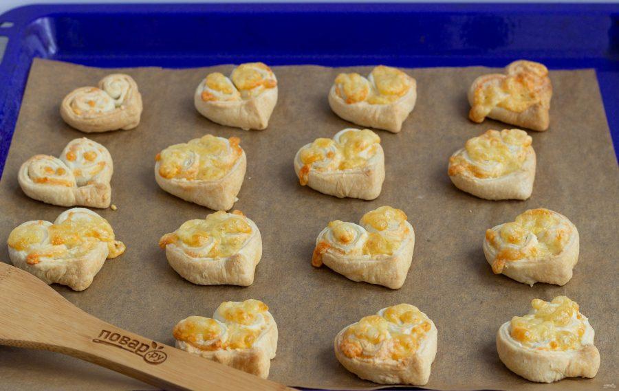 Слойки с сыром на 14 февраля