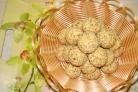 Постное печенье с орехами
