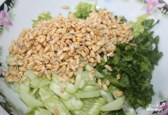 даже домашнем салат из проросшей пшеницы рецепт с фото услугам гостей спа