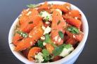 Салат из моркови и сыра Фета