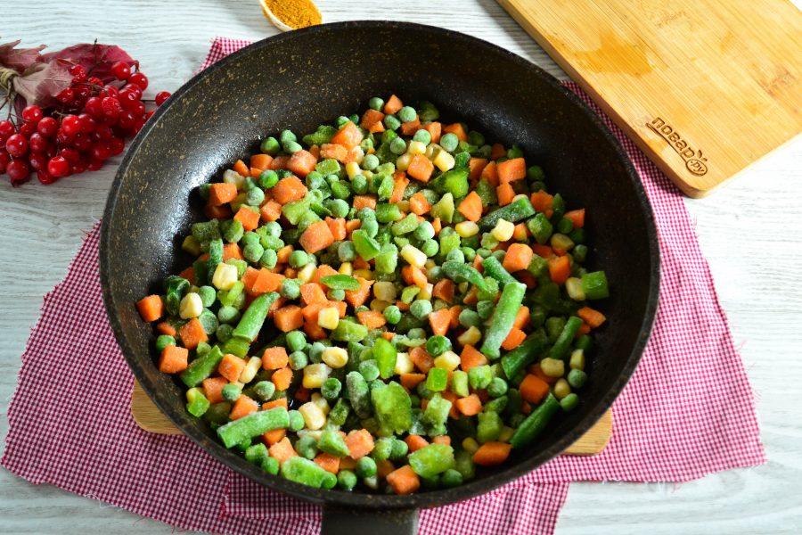 блюда из замороженных овощей рецепты с фото однако учёбу окончила