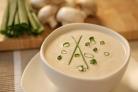 Суп из шампиньонов постный