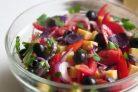 Легкий салат Гармония без майонеза
